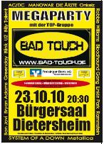 BAD Touch 2010